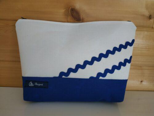 trousse de toilette-bleu-blanc-vagues bleues